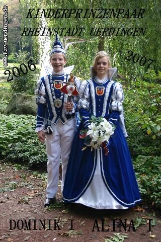 2006/2007 Dominik I. und Alina I.
