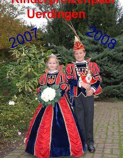 2007/2008 Yannik I. und Jana I.