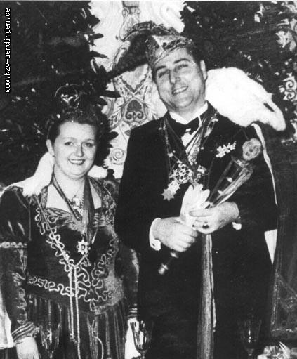 1951/1952 Kurt I. (Groten) und Christa I. (Knops)