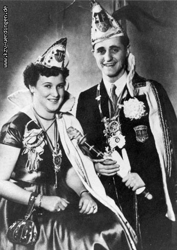 1953/1954 Alex II. (Hofer jun.) Irmgard I. (Hofer-Tiefenbach)