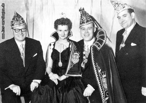 1954/1955 Karl I. (Diegel) und Ruth I. (Nußbeck)