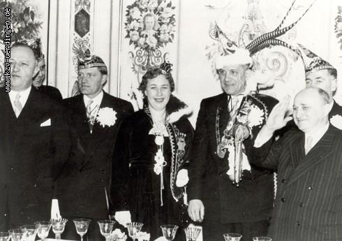 1956/1957 Werner I. und Änne I. (Schluckebier)