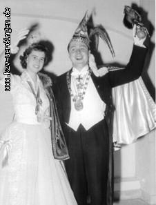 1959/1960 Otto I. (Pütz) und Anni II. (Japtok)
