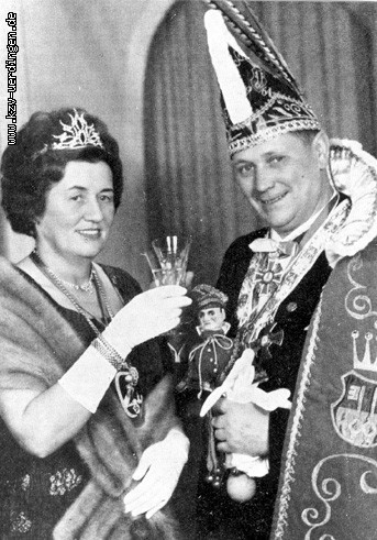 1964/1965 Heinrich II. (Jansen) und Änne II. (Küsters)