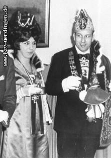 1970/1971 Dieter I. und Erika I. (Backes)