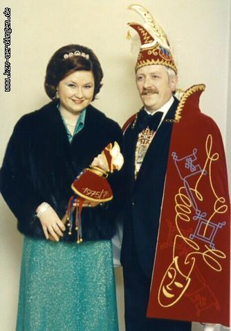 1975/1976 Gerd I. und Annemie I. (Borg)