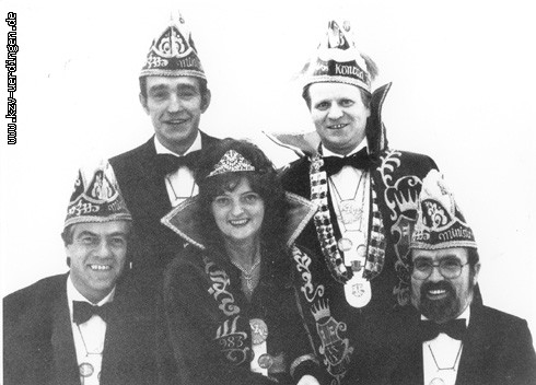 1983/1984 Konrad I. und Renate II. (Schoers)