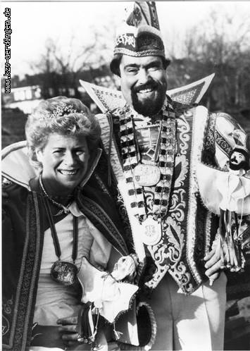 1986/1987 Dieter II. und Brigitte I. (Weyers)