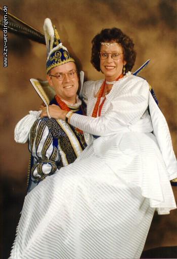 1995/1996 Wolfgang III. und Margret II. (Schick)
