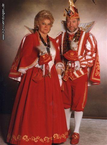 1996/1997 Klaus I. und Ingrid II. (Kemper)