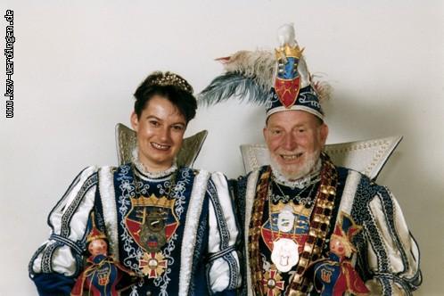 1998/1999 Rolf I. (Lemm) und Solveig I. (Holste