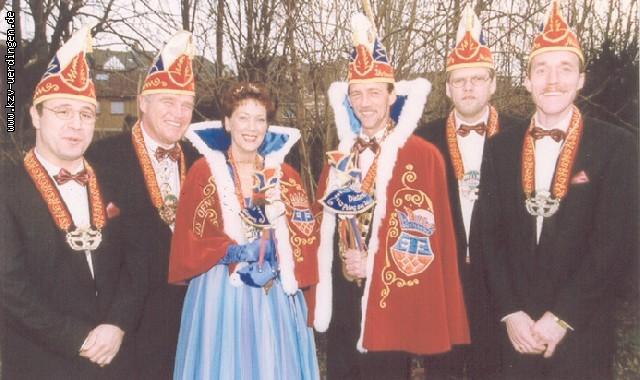 1999/2000 Dietmar II. und Monika I. (Niemann)