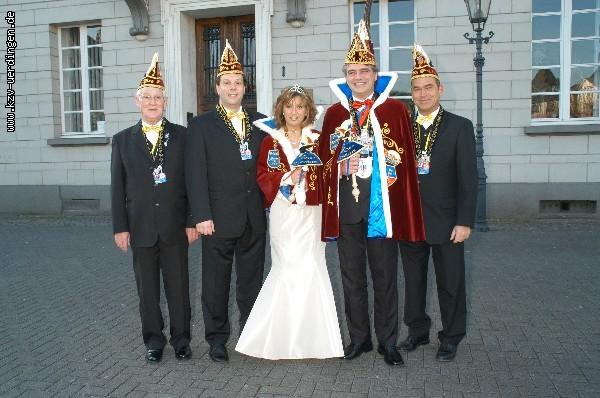 2005/2006 Rolf II. (Isenberg) und Anja I. (Mellen)