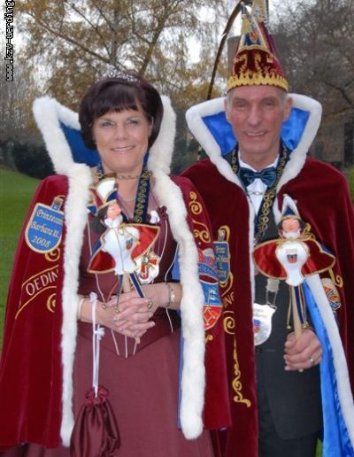 2007/2008 Karl-Heinz II. und Barbara II. Bock